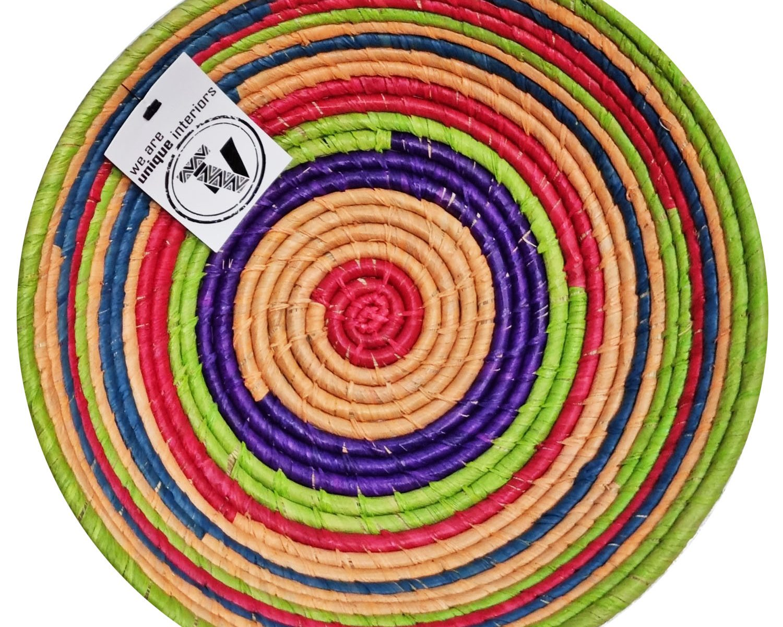 Medium Raffia Basket Madagascar