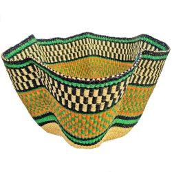 Bolga Designer Wave Basket
